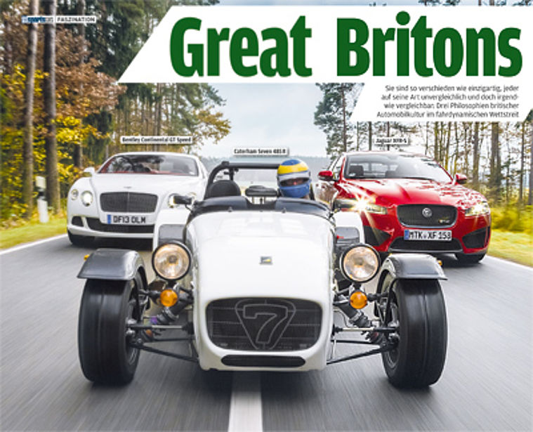 Autobild Sports Cars - Great Britons
